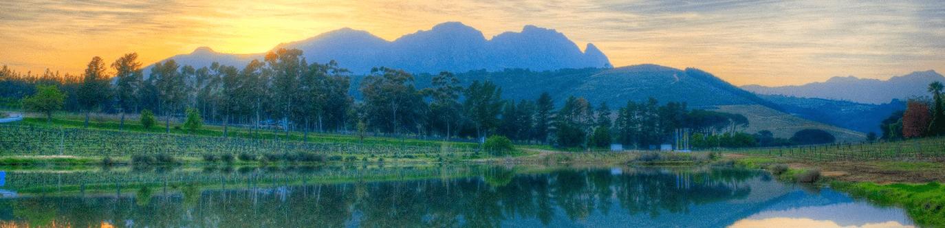 L'Avenir Wijngaard uitzicht